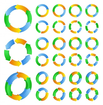 Cirkel pijlen