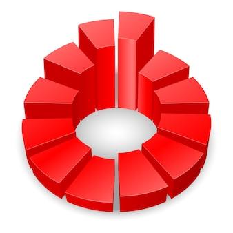 Cirkelvormig diagram.