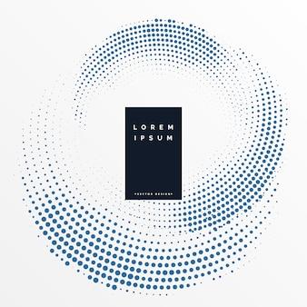 Cirkelvormige halftone ontwerp patroon achtergrond