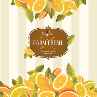 Citroen en limoen limonade. limonade groene illustratie