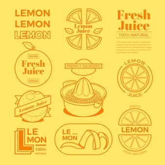 Citroen minimale logo-collectie