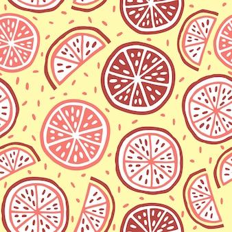 Citrus patroon ontwerp
