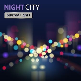 City blur achtergrond