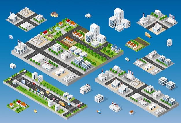 Cityscape ontwerpelementen