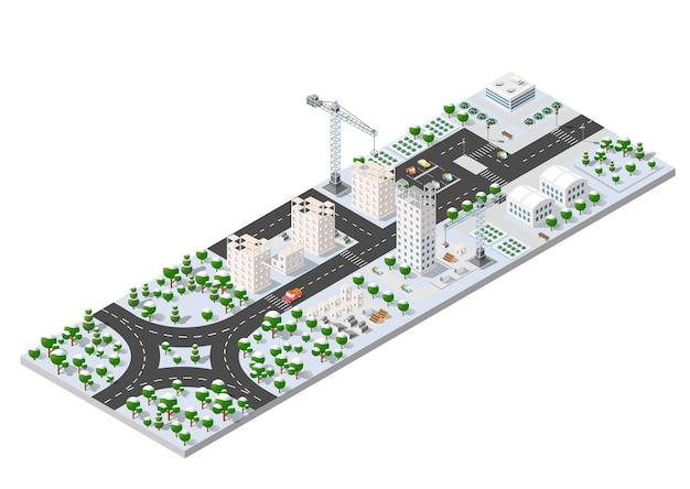 Cityscape stadsstraat