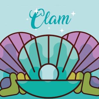Clam zee leven cartoon