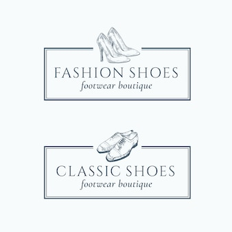 Classic fashion shoes footwear boutique-logo