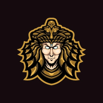 Cleopatra mascotte logo