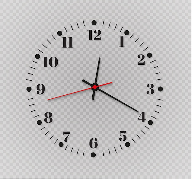 Clock timer illustratie
