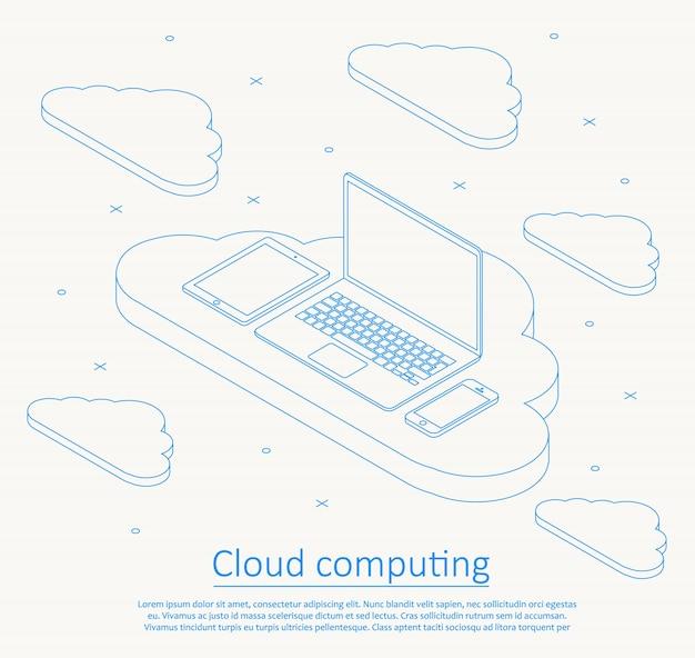 Cloud computing achtergrond