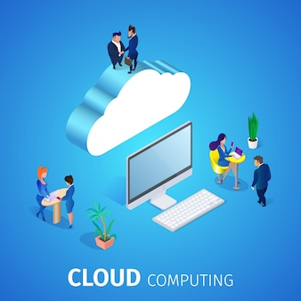 Cloud computing. database service.