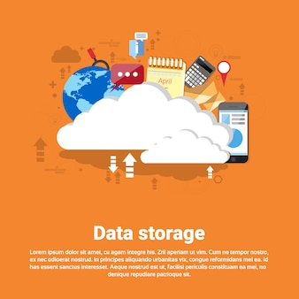 Cloud computing database storage services