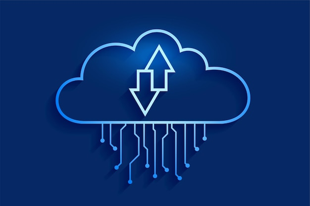 Cloud computing datastreaming concept