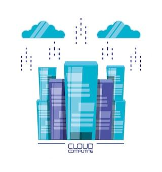 Cloud computing met gebouwen