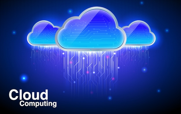 Cloud computing-technologie.