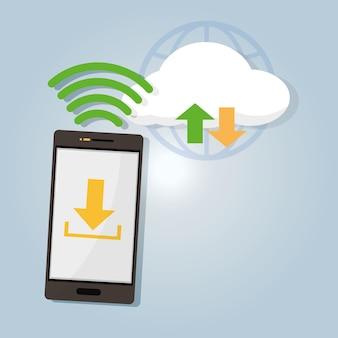 Cloud computing vanaf smartphone
