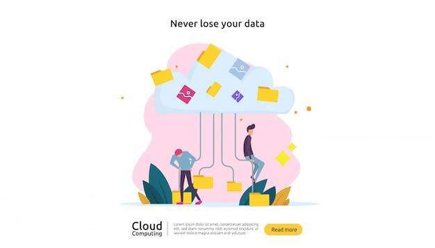 Cloud datacommunicatie
