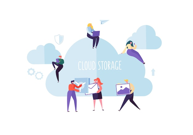 Cloud storage-technologie