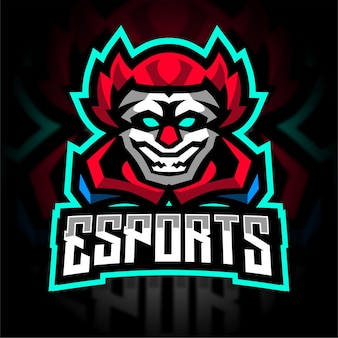 Clown esport gaming-logo
