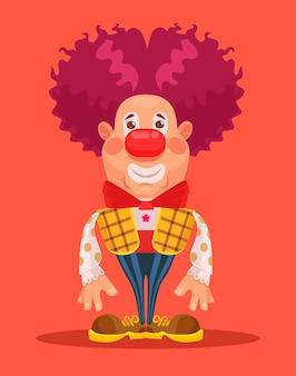 Clown karakter.