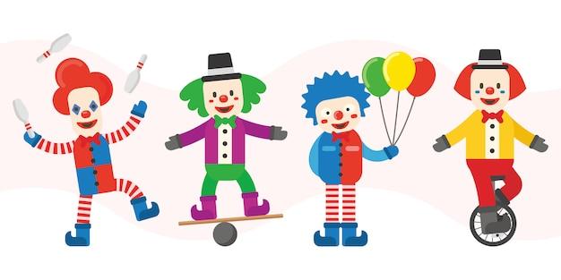 Clown karakters