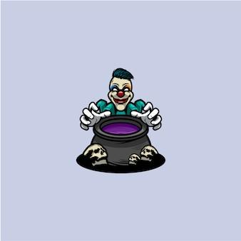 Clown pictogram