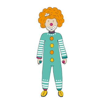 Clown vectorillustratie