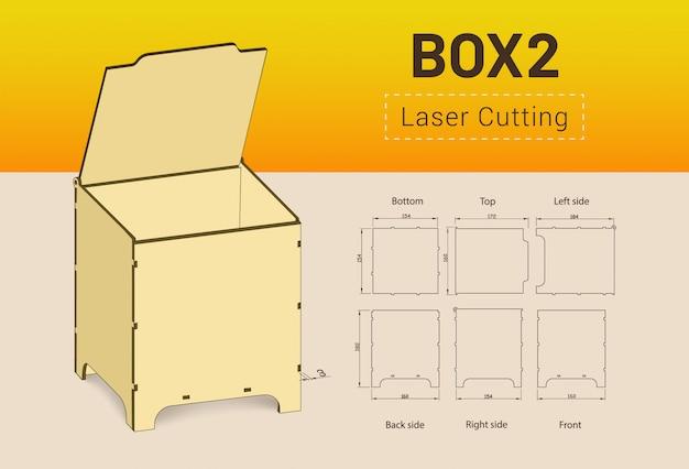 Cnc. lasersnijbox.