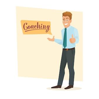 Coaching in het openbaar spreken