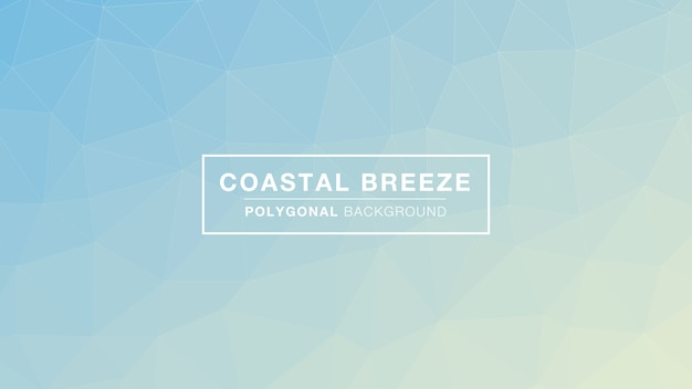 Coastal breeze polygonal