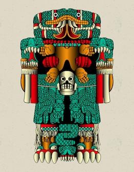 Coatlicue moeder aztec
