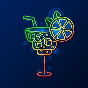 Cocktail neon teken
