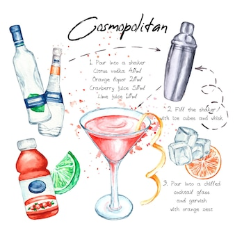 Cocktail recept