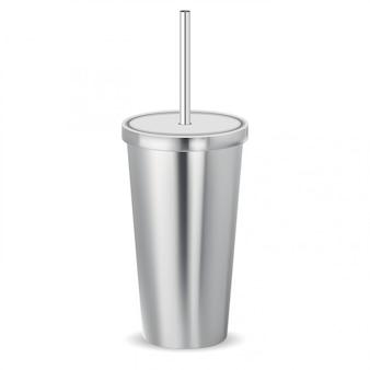 Cocktail shake beker. koffiekan