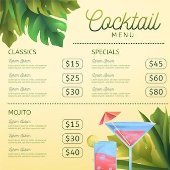 Cocktailkaart