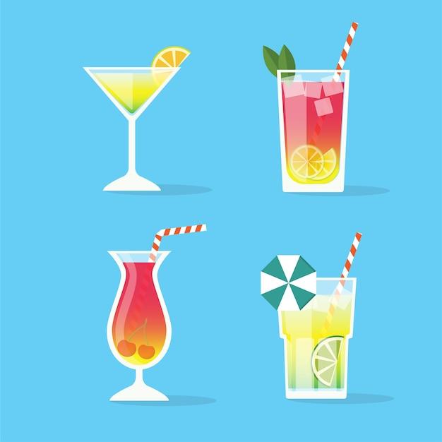 Cocktails instellen