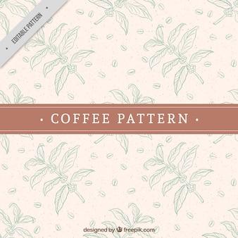 Cocoa decoratief patroon