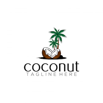 Coconut logo sjabloon