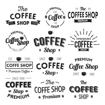 Coffee logo templates