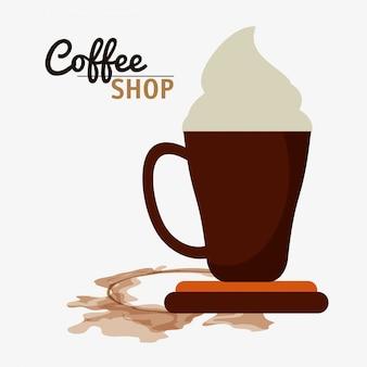 Coffee shop crème espressoroom