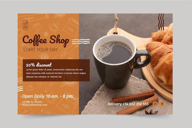 Coffeeshop banner