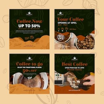 Coffeeshop instagram-berichten