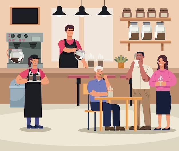 Coffeeshop-restaurant