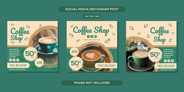 Coffeeshop social media bericht