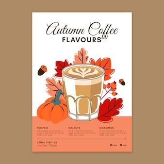 Coffeeshop verticale flyer