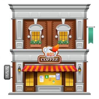 Coffeeshop winkel of café.