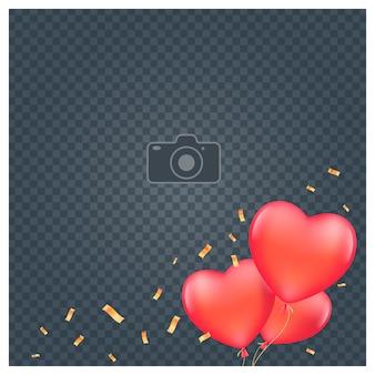 Collage van fotolijst illustratie