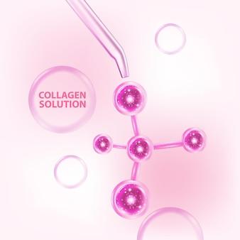 Collageen serum huidverzorging cosmetisch