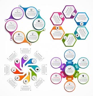 Collectie infographics