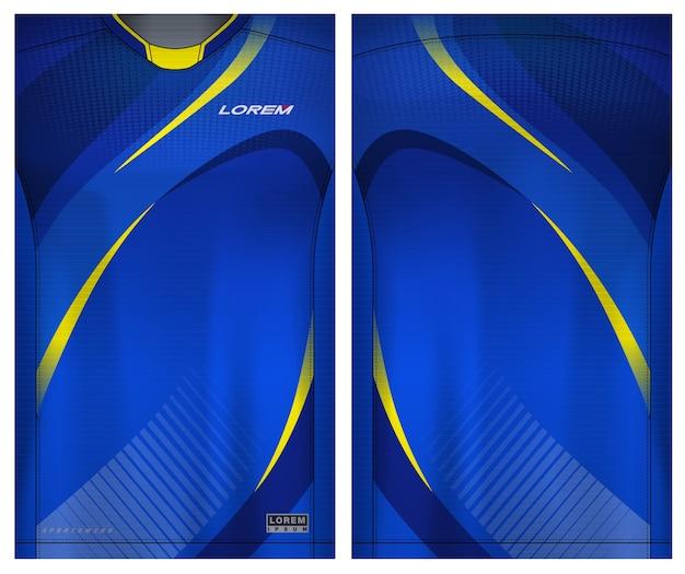 Collectie stoffen textiel voor sportshirt